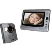"""Videocitofono a colori con monitor LCD da 7"""" - Mod. Silver"""