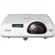 Мултимедиен проектор Epson EB-535W Short-throw projector, WXGA 1280 x 800, 3400 Lumens, 16000:1, LAN, USB, Wi-Fi, V11H671040