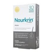 Nourkrin men suplemento antiqueda capilar 60cápsulas promocional - Nourkrin