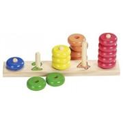 Joc sortare - Inele colorate