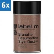 Label.M 6x Label.M Complete Brunette Resurrection Style Dust 3,5gr