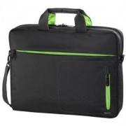 Чанта за Notebook Marseille Style, до 40 см, 15.6 инча, сиво/ зелено, HAMA-101284