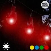 Bec Solar (pachet de 4) - Culoare Roșu