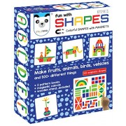 Play Panda New Fun Magnetic Shapes Type 2 - With Magnetic Board And Display Stand