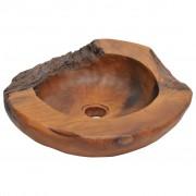 vidaXL Umývadlo z masívneho teakového dreva, 45 cm