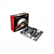 T. Madre Biostar HI-FI A70U3P, Soporta, A10 /A8 /A6 /A4/ Athlon II X4 De Socket FM2+, Memoria, DDR3 2600(OC) / 1600 / 800 MHz, 32 GB, Integrado, Audio HD, Red, Micro-ATX, Ptos, 1xPCIEx16, 1 X PCIEx1, 1 X PCI.