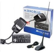 Kit Statie radio CB Midland M Zero Plus + Antena PNI Extra 48 cu magnet