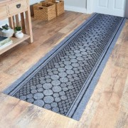 Heavy-Duty Runner Grey 67 X 200Cm by Coopers of Stortford