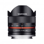 SAMYANG obiettivo 8mm F 2.8 Fish-eye cs II (sony E-mount) Nero