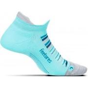 Feetures - Elite Ultra Light No Show Tab - Hardloopsokken - Sportsokken - Lichtblauw - S