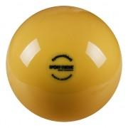Ritmikus gimnasztika labda gyakorló, csillogó magasfényű, 16 cm átmérőjű, 300gr.súlyú - aranysárga
