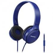 Слушалки Panasonic RP-HF100ME-A, Микрофон, Сини, RP-HF100ME-A