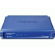 Trendnet TW100-S4W1CA router wireless Fast Ethernet Blu