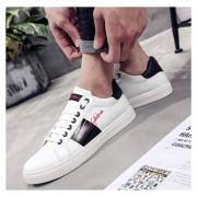 Hombre Zapatos De Caminar Fashion-Cool - Negro Y Blanco