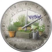 Ceas de perete - Le Jardin Francais - Ø31 cm