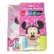 "Disney Minnie Mouse Bow-tique Mini Coloring Book with Color Pencils (2.5"" x 3.5"", 6 Color Pencils)"