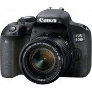 Canon Eos 800d + 18-55mm F/4-5.6 Is Stm - 2 Anni Di Garanzia In Italia