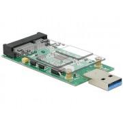 Scheda Convertitore USB 3.0 Maschio a mSATA Full Size