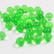 Tosoar Magic Water Beads 11000 Pcs Clear Gel For Kids Tactile Toys Sensory Pearl Plant Decoration Crafts Orbeez Spa Refill (Green)