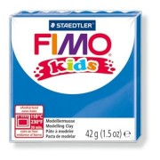 Gyurma, 42 g, égethető, FIMO Kids, kék (FM80303)