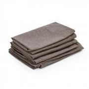 Blumfeldt Theia möbelklädsel 8 delar 100% polyester vattenavvisande brun