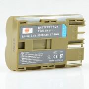 DSTE BP-511 2300mAh Bateria para Canon DM-MV100X DM-MV100Xi - Verde