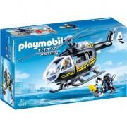 Playmobil City Action - Elicopterul echipei SWAT