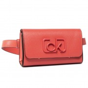 Чанта за кръст CALVIN KLEIN - Ck Signature Belt K60K606644 Red