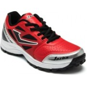 Jazba One Drive 110 Cricket Shoes For Men(Red)