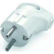 Földelt dugvilla Műanyag Fehér VI-42 - Viko