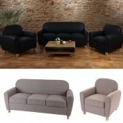 3-1-1 Sofagarnitur Malmö T377, Couch Loungesofa, Retro 50er Jahre Design ~ Variantenangebot
