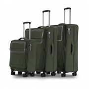 Conwood Pulse chive green suitcase set