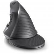 Ratón Vertical Delux M618 Con Ratón USB Ergonómico De Color Gris Y Negro - Negro Y Gris