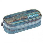nitro Etuibox Pencil Case Frequency Blue