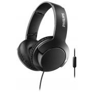 Casti Stereo Philips SHL3175BK/00, Microfon (Negru)