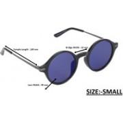 Fastrack Round Sunglasses(Blue)