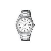 Relógio Casio - MtP-1302D-7bvdf - Steel Steel - White Dial