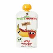 Piure de banane mere si zmeura bio 100g Erdbar PROMO