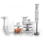 Black & Decker Handiprep Express Immersion Blender Chopper Whisk White HB5500W 500 W Food Processor(White)