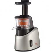 Storcator de fructe si legume Tefal Infiny Juice ZC255, 200 W, Recipient suc 0.8 l, Recipient pulpa 0.8 l,1 viteza, Functie Reverse, Negru/Inox
