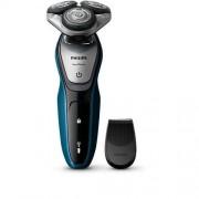 Електрическа самобръсначка Philips за сухо и мокро бръснене AquaTec, тример SmartClick, LED display, S5420/06
