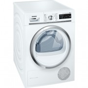 Siemens WT47W540BY - 9kg Tumble Dryer IQ 700 White/ Chrome free Delivery