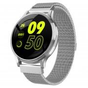 MK08 reloj inteligente rastreador de ejercicios Monitor del ritmo cardíaco de la presión de la sang