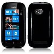 Силиконов гръб ТПУ за Nokia Lumia 710 Черен