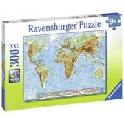 Puzzle Harta politica a lumii, 300 piese