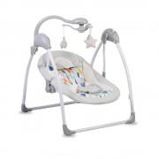 Cangaroo Ljuljaška za bebe Jessie Grey sa svetlom i daljinskim upravljačem (CAN7850)