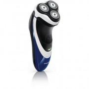 Aparat de barbierit Philips PT723/16, Fara fir, ComfortCut, Flex And Float, Autonomie 45 minute, Display LED, Negru/Albastru
