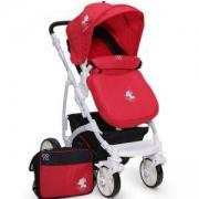 Детска комбинирана количка Moni Tala, червена, 356112