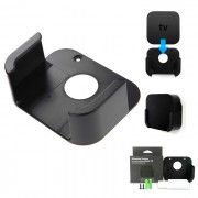 Kit de montaje de TV Wall Box Caso Bandeja Holder soporte del soporte - Negro