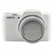 Ismartdigi Funda de silicona para Panasonic GF8 7 Camara-Blanco